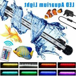 Waterproof Aquarium Fish Tank Submersible LED Light Bar Ligh