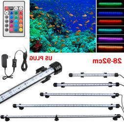 Waterproof Submersible Aquarium Fish Tank RGB LED Light Bar