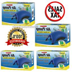 Whisper Air Pump Tetra Water Fish Tank Aquarium  10 40 60 10