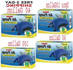 Whisper Air Pump Tetra Water Fish Tank Aquarium 10 40 60 100