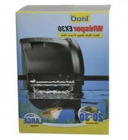 Tetra Whisper EX30 Fish Aquarium Power Filter 160GPH, For Ta