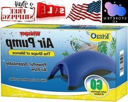 Tetra Whisper Quiet Powerful Air Pump Flow Water Fish Tank S