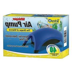 Tetra Whisper Silent Air Pump 20-40 Gallons Water Aquarium F