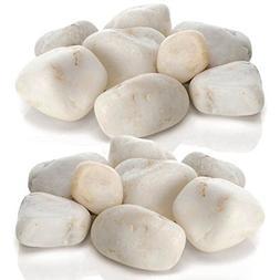 biOrb White Aquarium Pebbles, TWO Pack Bundle
