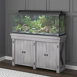 wildwood aquarium stand 55 gallon rustic white