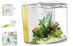 YCTECH 1.4 Gallon Aquarium Starter Kits Betta Fish Tank Gold